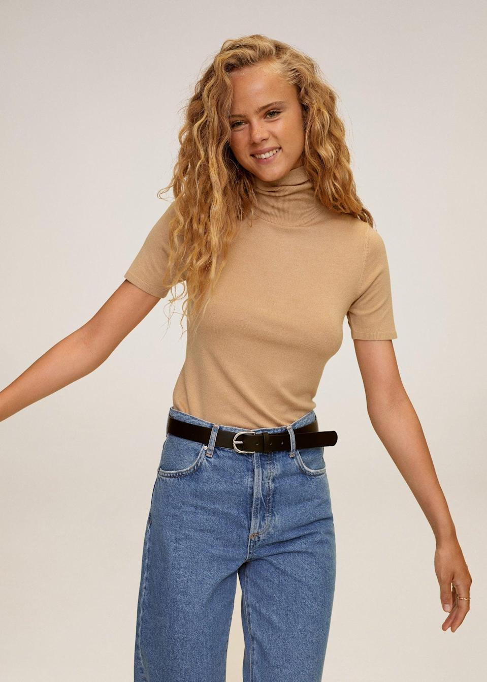 <p>This <span>Turtleneck sweater</span> ($30) makes a great layering piece for blazers, sweater vests or oversized cardigans.</p>