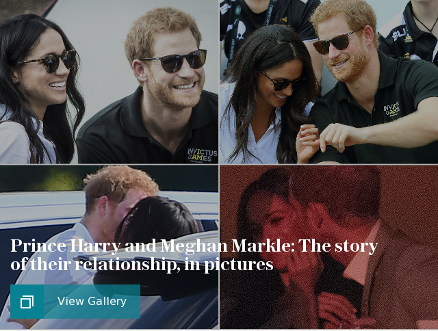 Copy of Prince Harry and Meghan Markle: The story of their relationship, in pictures