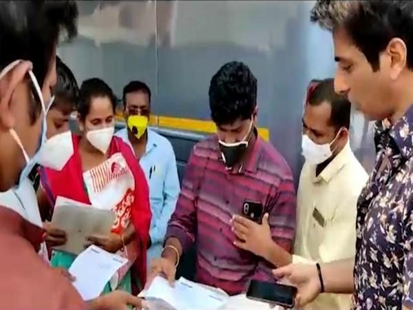 Actor Sonu Sood Helping the family