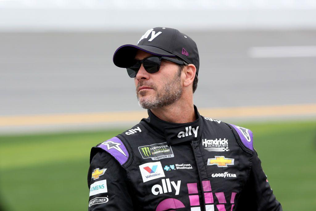 Jimmie Johnson fastest in Friday's Cup practice at Fontana