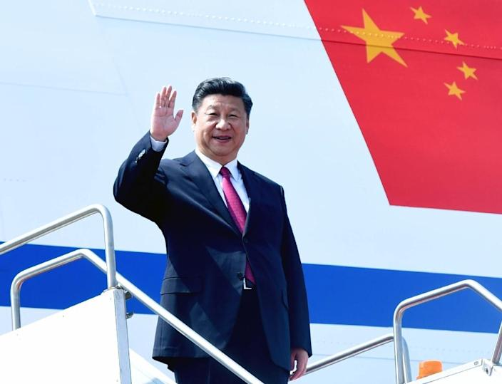 Xi Jinping will become the first Chinese president to attend the World Economic Forum when he gives a speech expected to extol Beijing's efforts to negotiate new types of regional trade deals shorn of US influence (AFP Photo/)