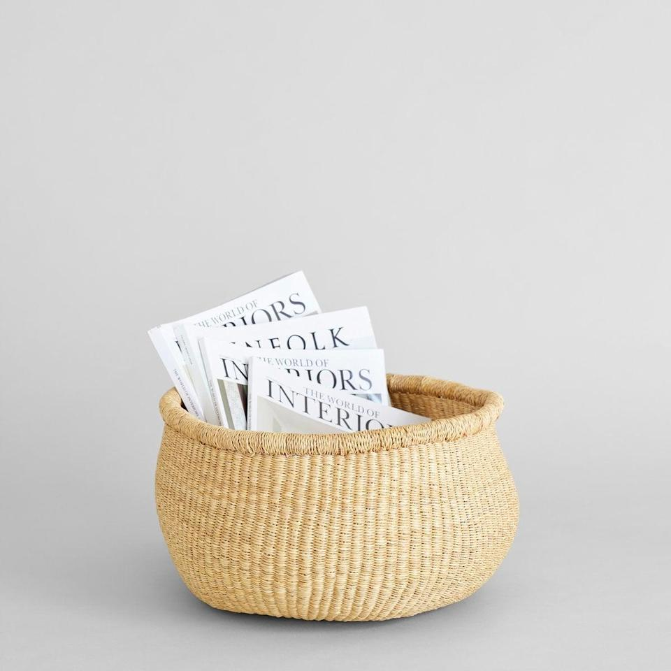 <p>This sustainably made <span>Natural Bolga Nesting Basket</span> ($68) is as much a beautiful piece of decor as it is a home essential. Handwoven from elephant grass by women in Ghana, this multipurpose object is the gift that will keep on giving.</p>