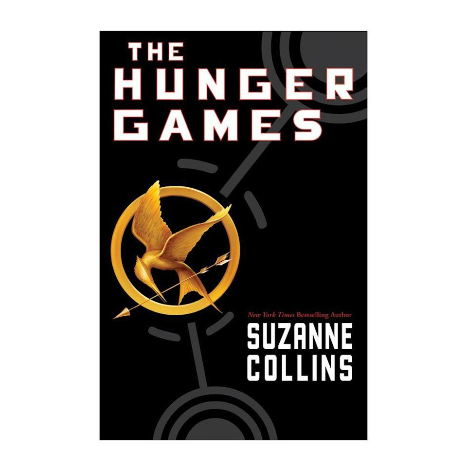 """<p><strong>$7.03 </strong><a class=""""link rapid-noclick-resp"""" href=""""https://www.amazon.com/Hunger-Games-Book-1/dp/0439023521/ref=sr_1_1?tag=syn-yahoo-20&ascsubtag=%5Bartid%7C10050.g.35033274%5Bsrc%7Cyahoo-us"""" rel=""""nofollow noopener"""" target=""""_blank"""" data-ylk=""""slk:BUY NOW"""">BUY NOW</a></p><p><strong>Genre:</strong> Young Adult<br></p><p>In the first book of the fan-favorited<em> Hunger Games</em> series, the post-apocalyptic nation of Panem forces each of its 12 districts to participate in the annual Hunger Games — a fight to the death challenge that's aired on live TV. Sixteen-year-old Katniss Everdeen volunteers to represent her district in place of her younger sister, and finds love and strength while becoming a promising contender.</p>"""