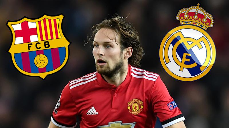 Daley Blind Real Madrid Barcelona GFX