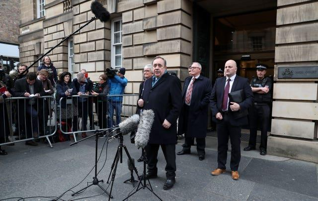 Alex Salmond court case