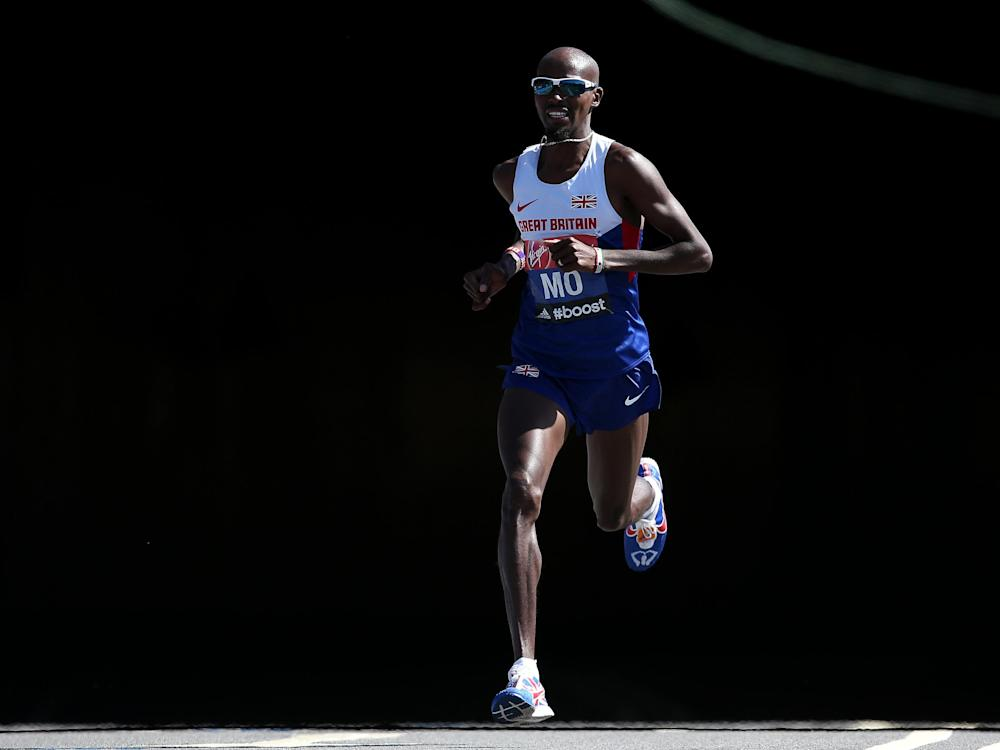 Four-time Olympic gold medalist Farah strenuously denies any wrongdoing: Getty
