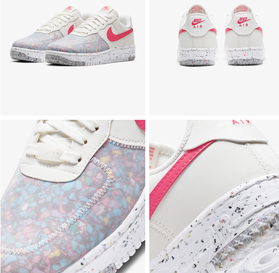 PHOTO: Nike. Nike Air Force 1 Crater