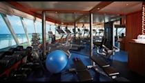 <p>The fitness center might be Team USA's most popular destination aboard the Silver Cloud. (silversea.com) </p>