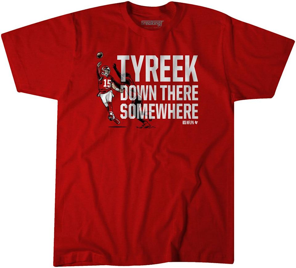 Tyreek Down There Somewhere Shirt