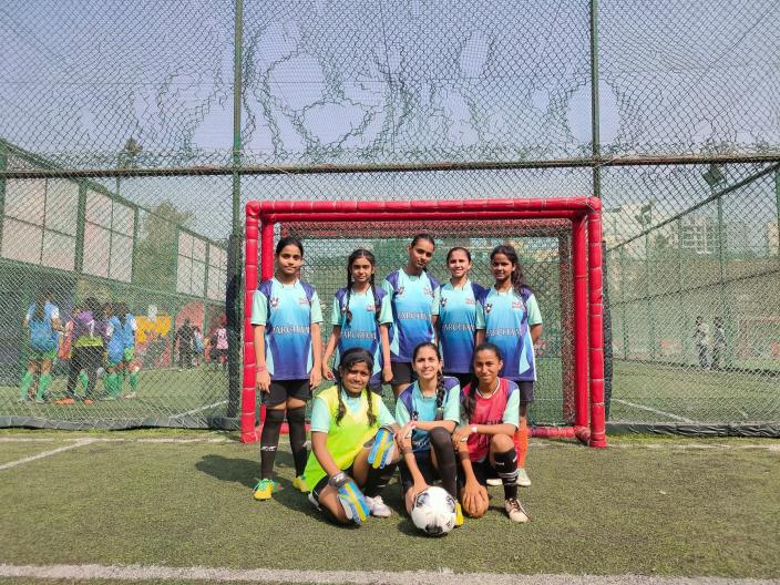 With football, girls are breaking all stereotypes that people have formed about Mumbra and Muslim girls