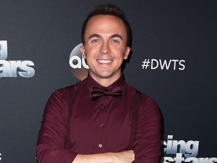 Frankie Muniz on the red carpet in 2018.