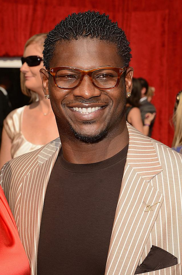 Retired NFL star LaDanian Tomlinson arrives at the 2012 ESPY Awards.