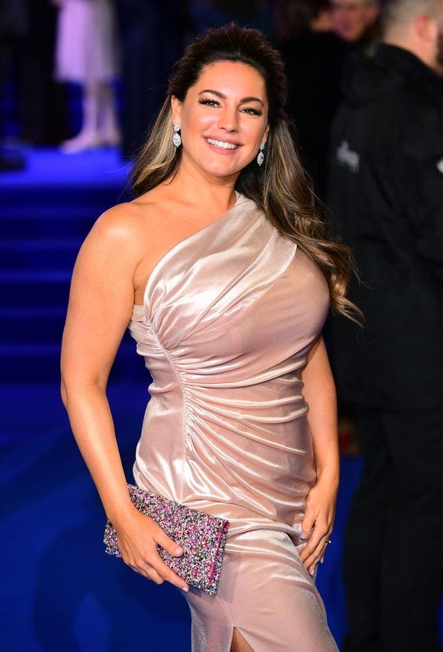 Kelly Brook on the red carpet