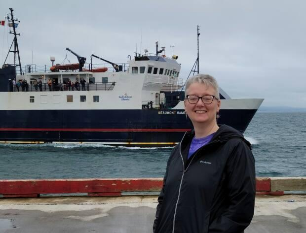 Katherine Walters has lived on Bell Island for 10 years, and says the province needs to be held accountable when it comes to ferries. (Submitted by Katherine Walters - image credit)