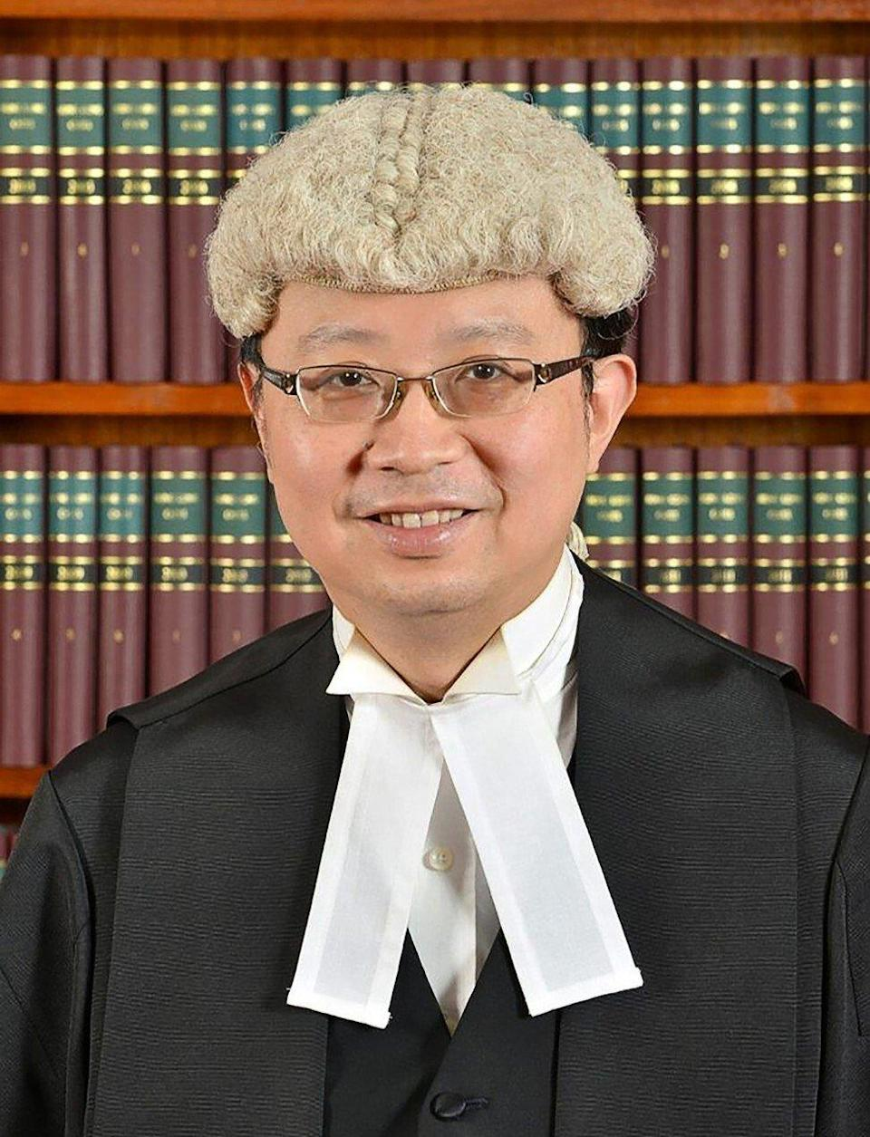 Johnson Lam is to become a permanent member of the Court of Final Appeal. Photo: Handout