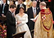 <p>Jack and Princess Eugenie tied the knot on October 12, 2018.</p>