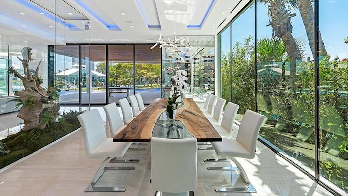 The dining room - Credit: Photo: Courtesy of ONE Sotheby's International Realty