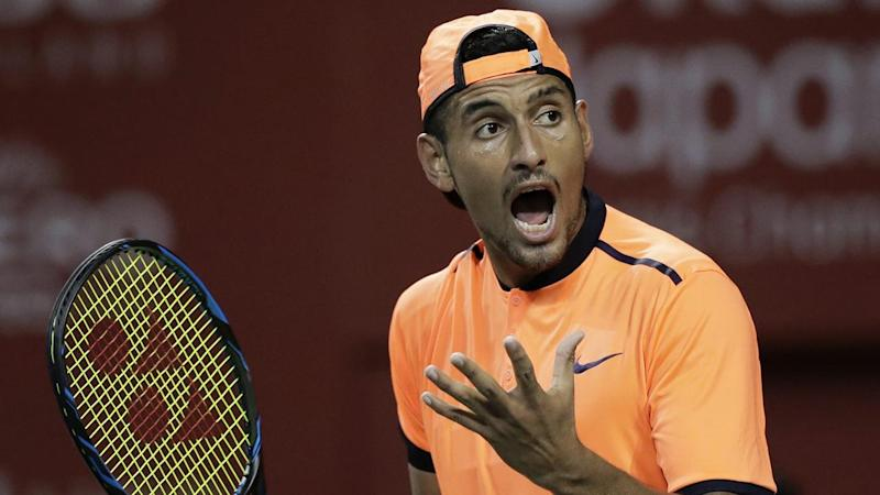 Kyrgios closing in on World Tour Finals