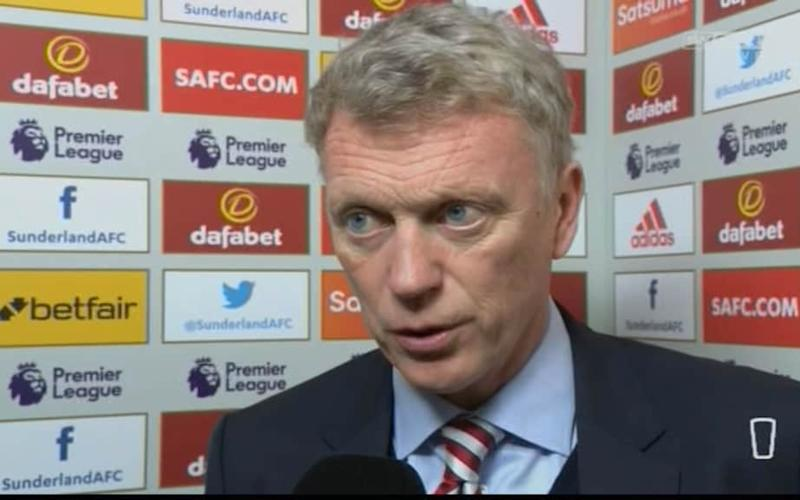 moyes - Credit: sky sports