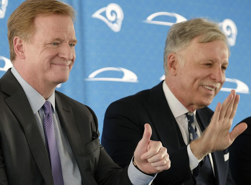 St. Louis has filed a lawsuit against the NFL and all 32 teams over the Rams being relocated to Los Angeles. (AP)