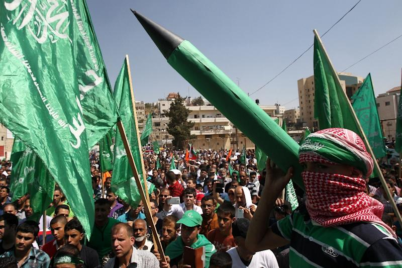 Fatah and Hamas have not contested an election since 2006 parliamentary polls, which Hamas won -- sparking a conflict that led to near civil war in Gaza the following year (AFP Photo/hazem Bader)