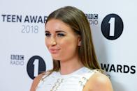 LONDON, ENGLAND - OCTOBER 21: Dani Dyer arrives at the BBC Radio 1 Teen Awards at SSE Arena on October 21, 2018 in London, England. (Photo by Joe Maher/Getty Images)