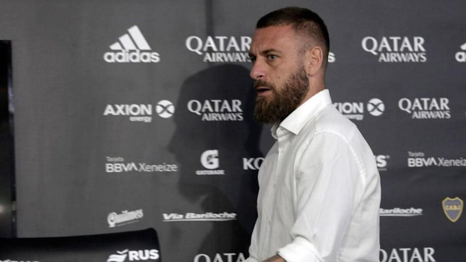 FBL-ARG-ITA-BOCA-DE ROSSI-RETIREMENT | ENRIQUE SANTOS/Getty Images