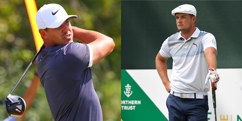 Bryson DeChambeau-Brooks Koepka have impromptu meeting at Liberty National over slow-play controversy