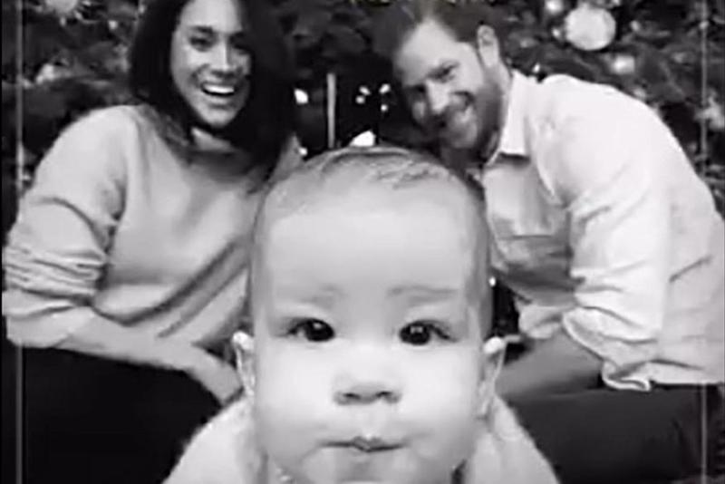 Meghan Markle, Prince Harry and Archie | The Queen's Commonwealth Trust/Twitter