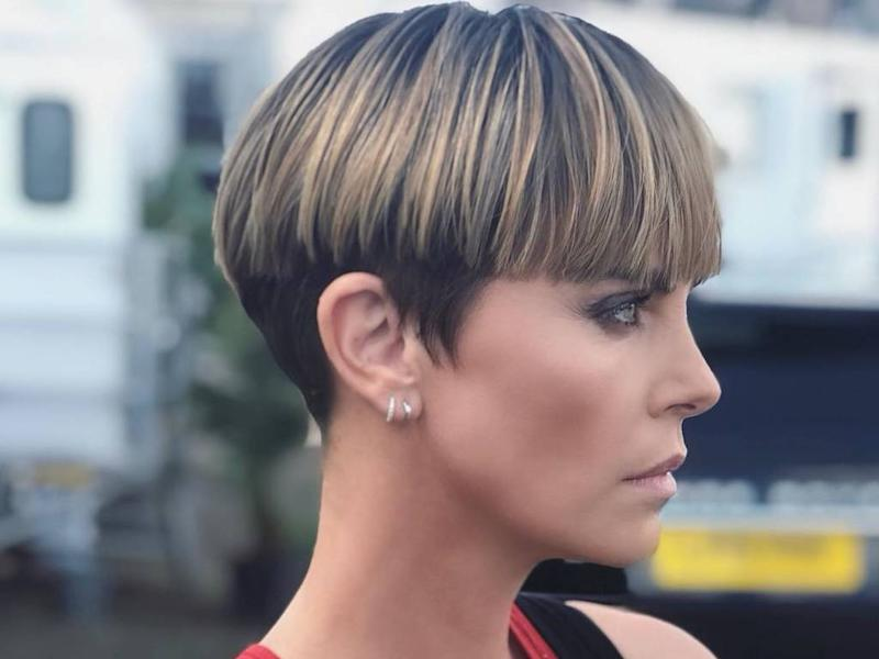 Charlize Theron gets '90s-inspired bowl haircut for Fast & Furious 9