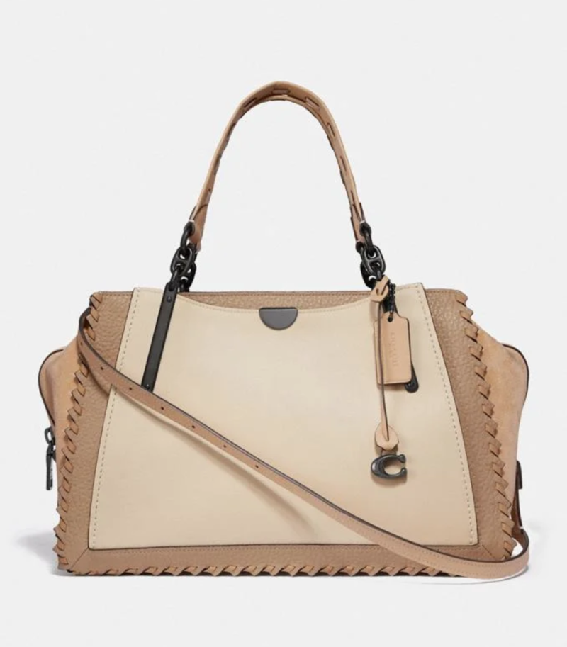 Dreamer 36 In Colorblock With Whipstitch. Image via Coach.
