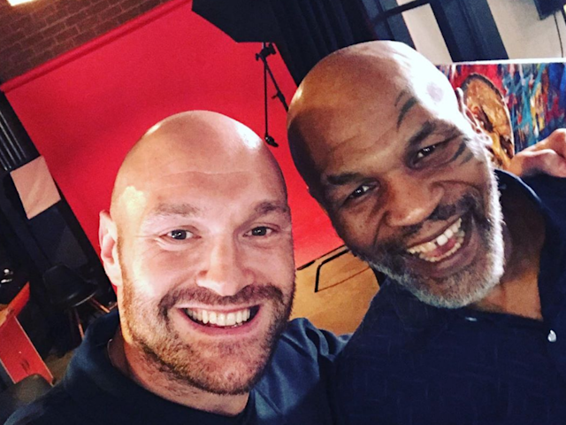 Discussions took place for Tyson Fury and Mike Tyson to fight: gypsyking101