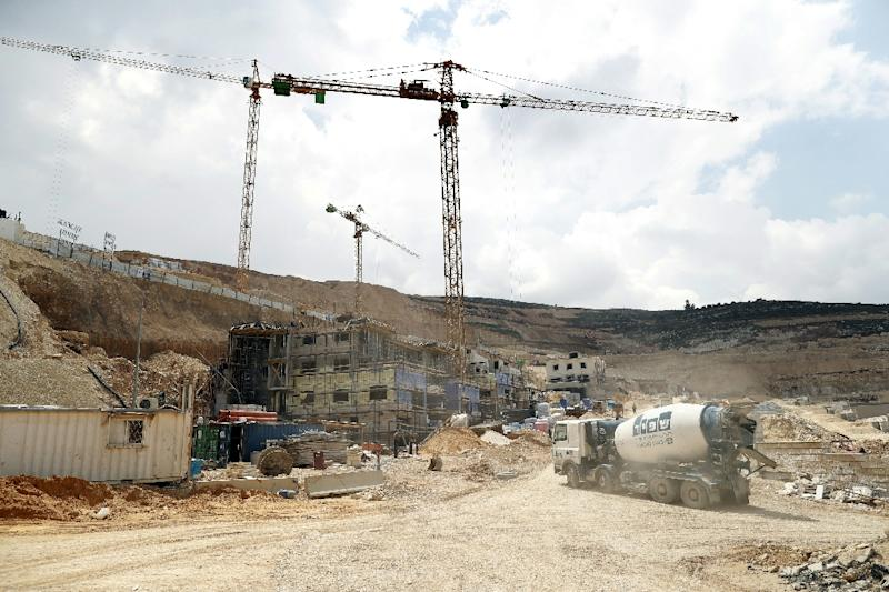 The international community considers all Israeli settlements in Israeli-annexed east Jerusalem and the occupied West Bank to be illegal (AFP Photo/Thomas Coex)