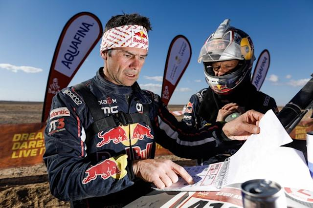 """#403 Red Bull Off-Road Team USA OT3: Cyril Despre <span class=""""copyright"""">A.S.O. </span>"""