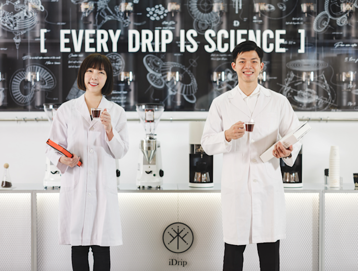 iDrip and 3+2's Smart Pour-Over Coffeemaker Exhibition Space in Taiwan