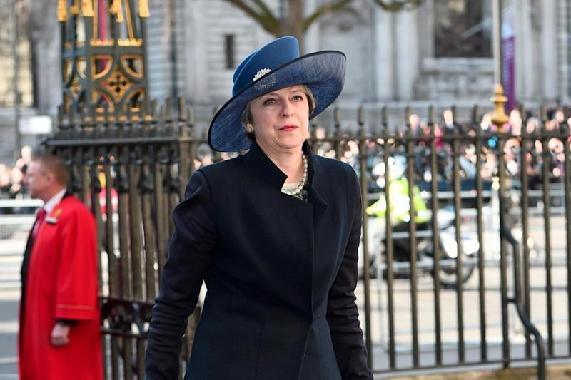 Theresa May: the PM's Brexit Bill was cleared by Parliament on Monday (Getty Images)
