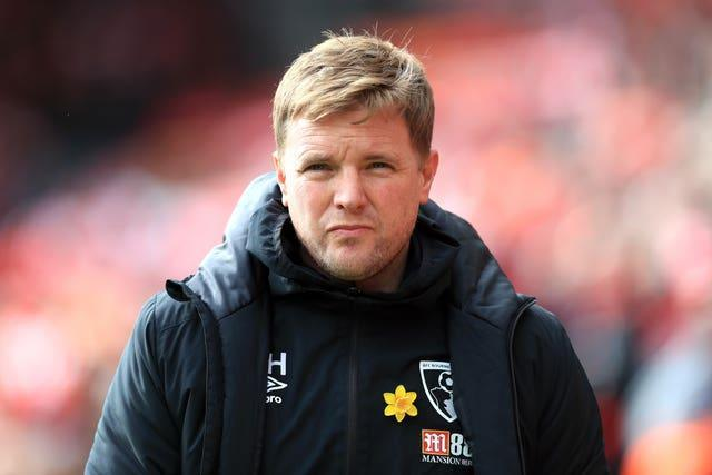Eddie Howe has been linked with the Celtic managerial vacancy