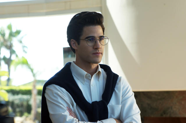 Darren Criss as Andrew Cunanan in  <em>The Assassination of Gianni Versace</em>. (Photo: Suzanne Tenner/FX)