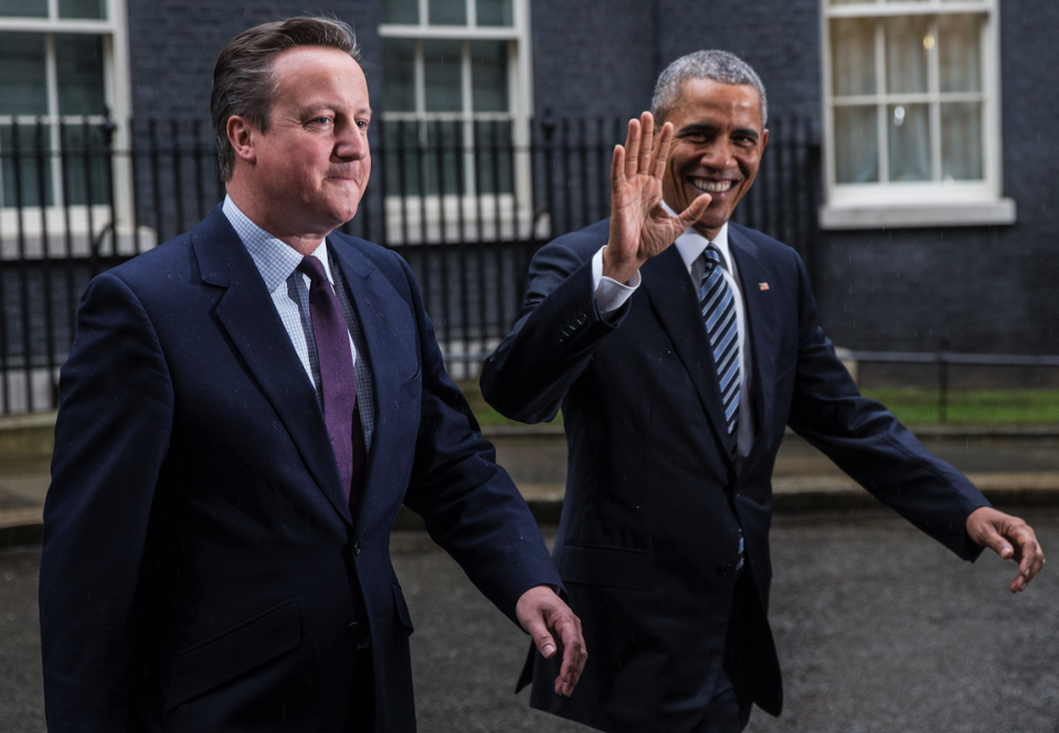 Steve Hilton has questioned the relationship between Obama and Cameron (REX)