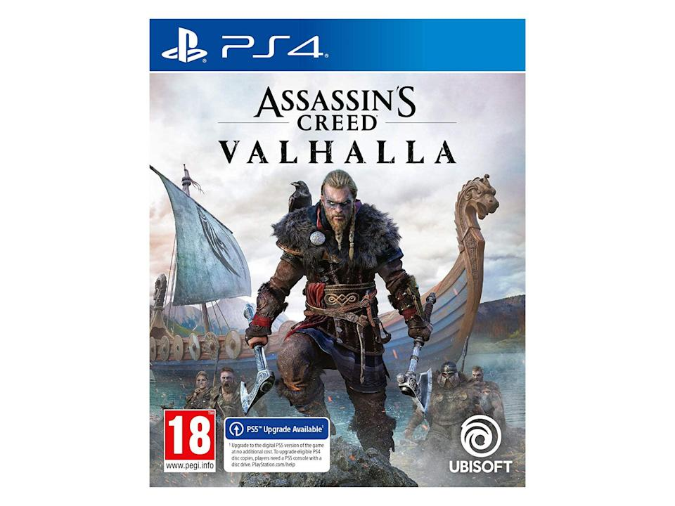 'Assassin's Creed Valhalla' for PS4: Was £57.99, now £29.48, Amazon.co.uk (IndyBest)