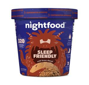 Nightfood sleep-friendly ice cream: Cold Brew Decaf