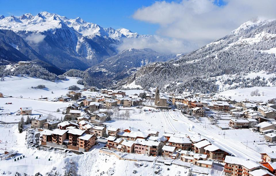 Aussois France - one of the best value ski resorts in europe - jacques pierre/getty images