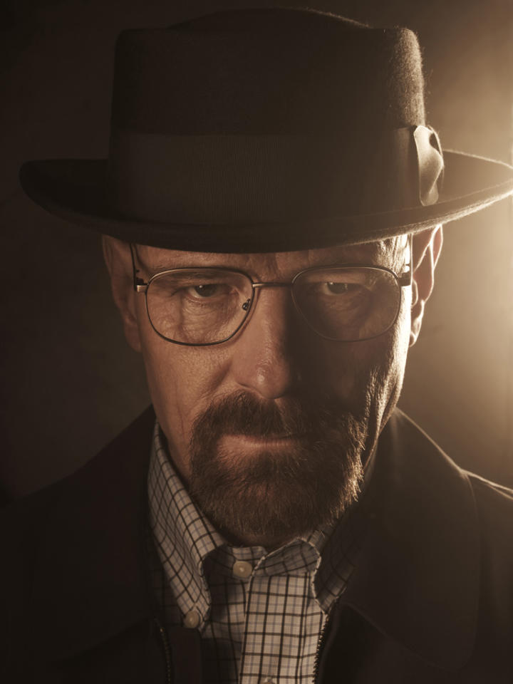 "Bryan Cranston stars as Walter White in ""Breaking Bad."""