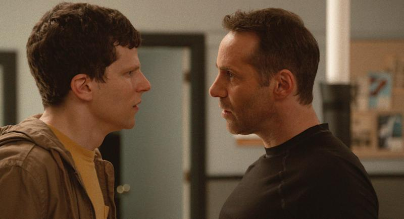 Jesse Eisenberg and Alessandro Nivola in 'The Art of Self-Defense' (Photo: Bleecker Street Media / courtesy Everett Collection)
