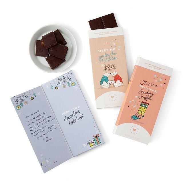 """<p><strong>Sweeter Cards</strong></p><p>uncommongoods.com</p><p><strong>$9.00</strong></p><p><a href=""""https://go.redirectingat.com?id=74968X1596630&url=https%3A%2F%2Fwww.uncommongoods.com%2Fproduct%2Fchocolate-holiday-cards&sref=https%3A%2F%2Fwww.countryliving.com%2Fshopping%2Fgifts%2Fg2077%2Fchristmas-presents%2F"""" rel=""""nofollow noopener"""" target=""""_blank"""" data-ylk=""""slk:Shop Now"""" class=""""link rapid-noclick-resp"""">Shop Now</a></p><p>A simple (and delicious!) gift for everyone on your list.</p>"""