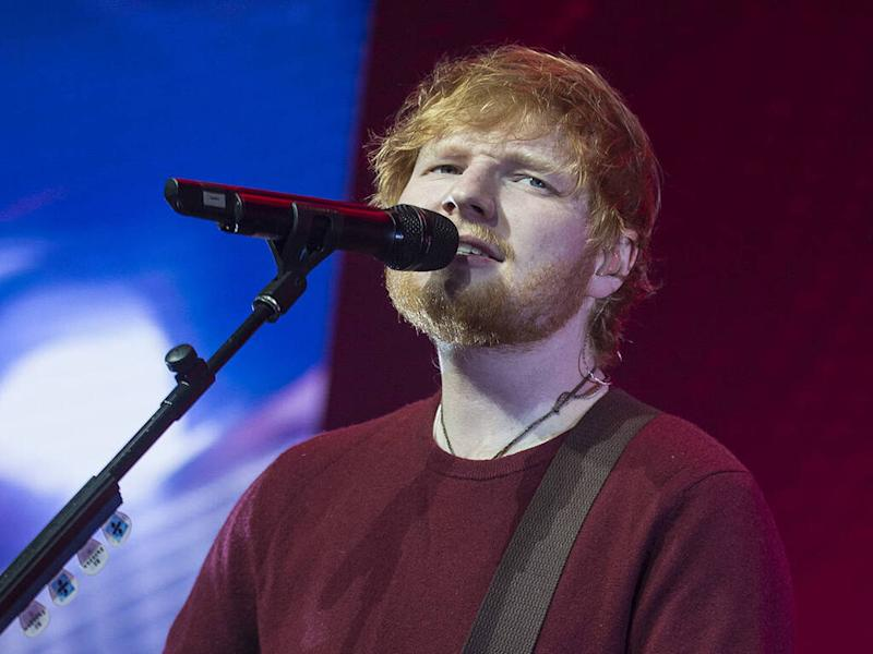 Ed Sheeran is a first-time dad
