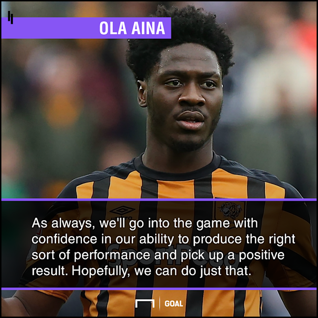 The young defender is optimistic that the Tigers can secure a positive result against the league leaders when they clash at Molineux Stadium