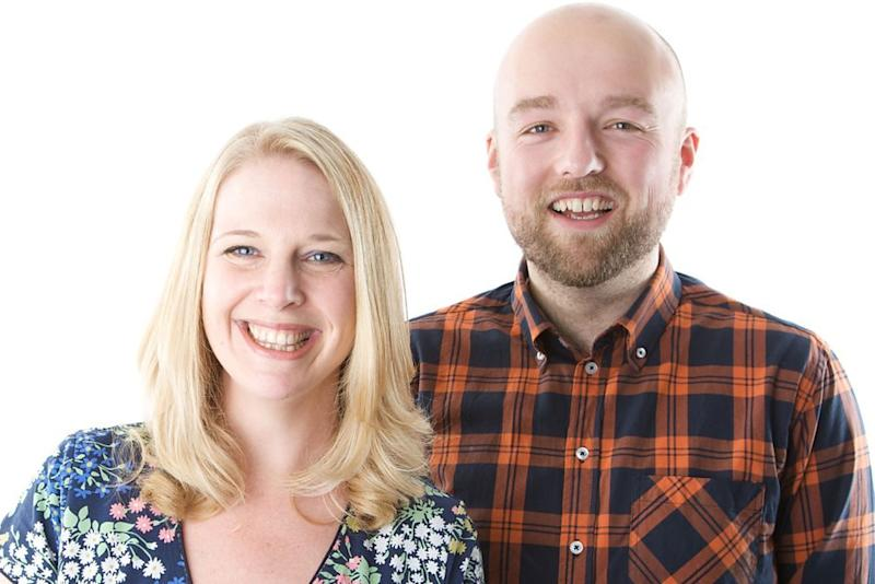 BBC Radio Shropshire presenter Vicki Archer, pictured with co-host Adam Green, has died suddenly at the age of 41: BBC