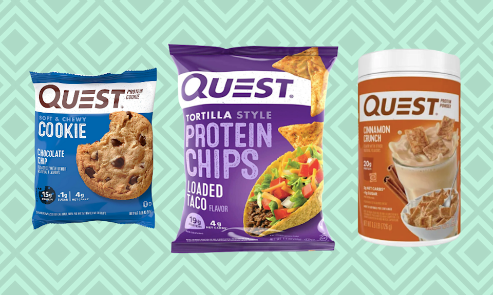 So many protein snacks, so little time... . (Photo: Amazon)