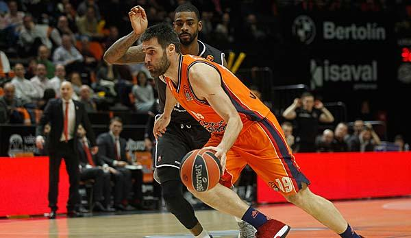 Basketball: EuroLeague: Bamberg verliert auch in Valencia